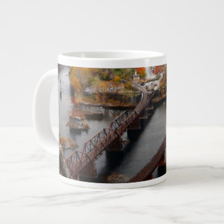 Harpers Ferry in the Fall Large Coffee Mug