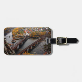 Harpers Ferry in the Fall Luggage Tag