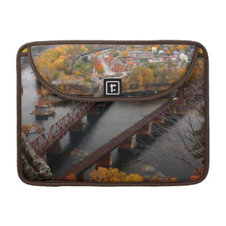 Harpers Ferry in the Fall Sleeves For MacBooks