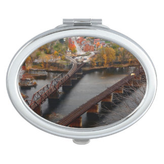 Harpers Ferry in the Fall Makeup Mirror