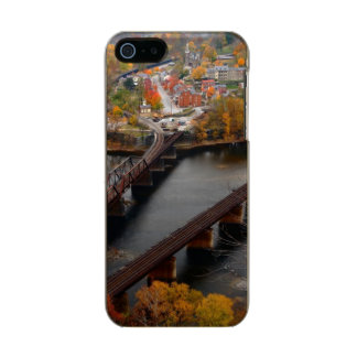 Harpers Ferry in the Fall Metallic Phone Case For iPhone SE/5/5s