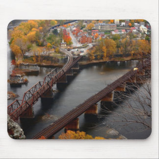 Harpers Ferry in the Fall Mouse Pad