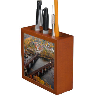 Harpers Ferry in the Fall Pencil Holder