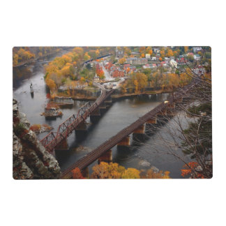 Harpers Ferry in the Fall Placemat