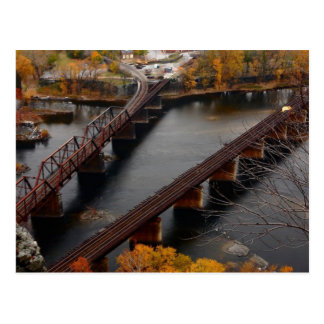 Harpers Ferry in the Fall Postcard
