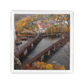 Harpers Ferry in the Fall Serving Tray