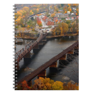 Harpers Ferry in the Fall Spiral Notebook