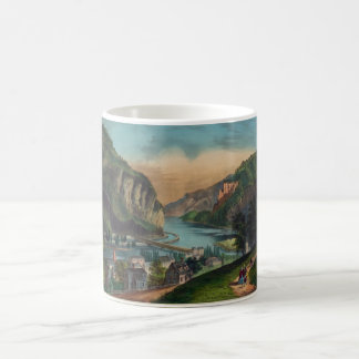 Harpers Ferry Jefferson County West Virginia 1859 Coffee Mug