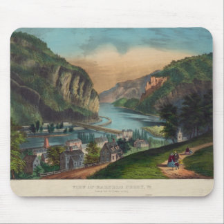 Harpers Ferry Jefferson County West Virginia 1859 Mouse Pad