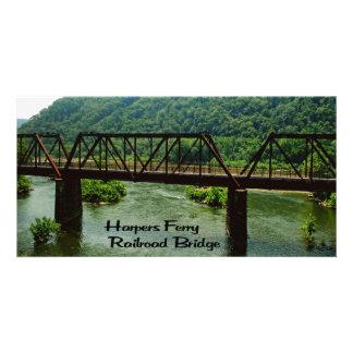 Harpers Ferry railroad Bridge Card