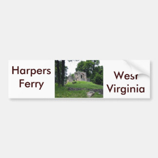 Harpers Ferry, West Virginia Bumper Sticker