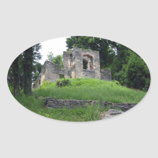 Harpers Ferry, West Virginia Oval Sticker