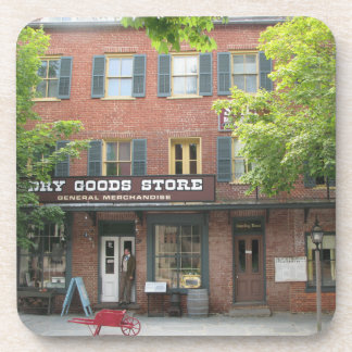 Harpers Ferry WV Dry Goods Store Cork Coasters