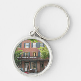 Harpers Ferry WV Dry Goods Store Keychain