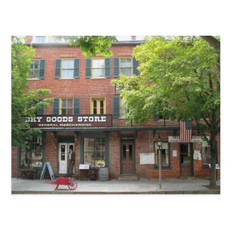 Harpers Ferry WV Dry Goods Store Postcard