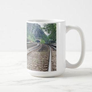 Harpers Ferry WV Railroad Tracks Mug