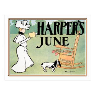Harper's June Edition Postcards
