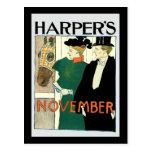Harper's June Horse for Sale Post Card