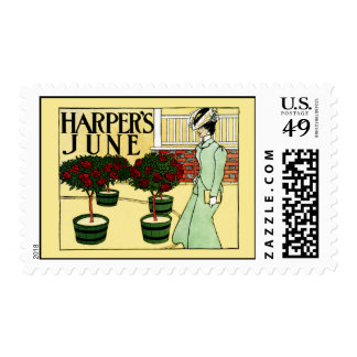 Harper's June Postage Stamp