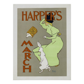Harper's March Poster
