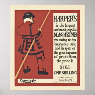 Harper's poster