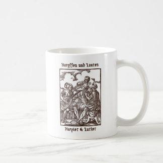 Harpffen und Lauten - Harpist and Lutist Coffee Mug