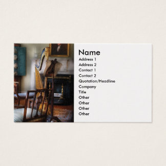 Harpist - The concert will begin soon Business Card