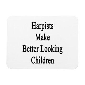 Harpists Make Better Looking Children Rectangular Photo Magnet