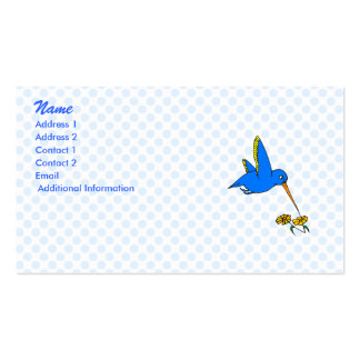Harpo Hummingbird Double-Sided Standard Business Cards (Pack Of 100)