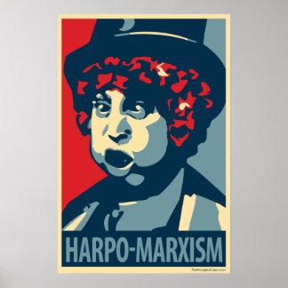 Harpo Marx - Harpo-Marxismo: Poster de OHP
