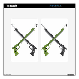 Harpoon vector decal for kindle fire