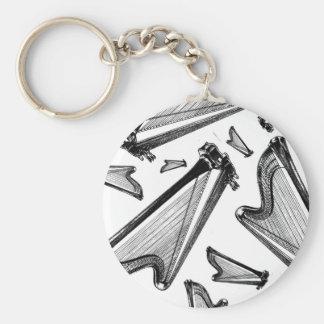 Harps Keychain