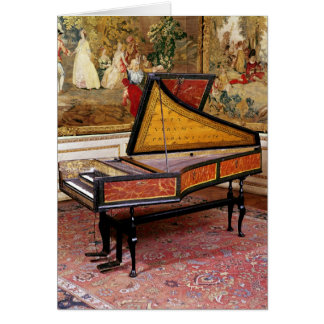Harpsichord, 1634 card