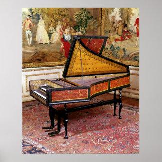 Harpsichord, 1634 poster