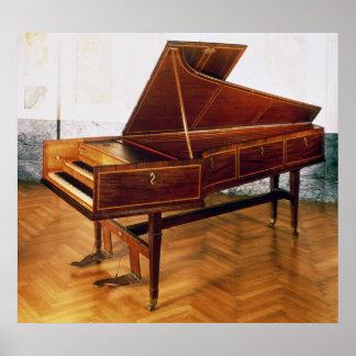 Harpsichord belonging to Franz Joseph Haydn Poster