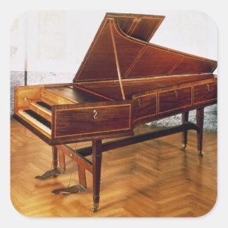 Harpsichord belonging to Franz Joseph Haydn Square Sticker
