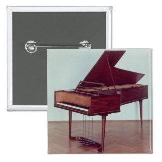 Harpsichord belonging to Ludwig van Beethoven Button