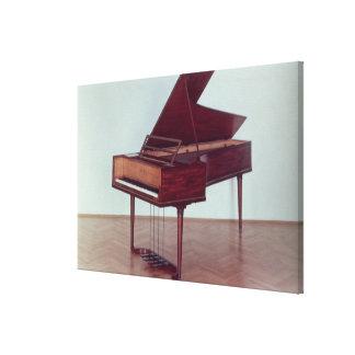 Harpsichord belonging to Ludwig van Beethoven Canvas Print