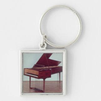 Harpsichord belonging to Ludwig van Beethoven Keychain