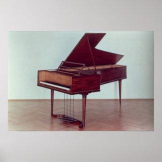 Harpsichord belonging to Ludwig van Beethoven Poster