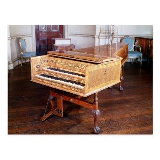 Harpsichord, by Jacob Kirckman, English, 1766 Postcard