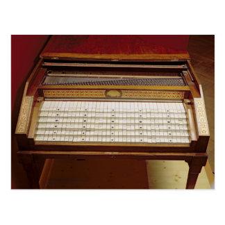 Harpsichord, by Johann Jakob Konnicke , 1796 Postcard