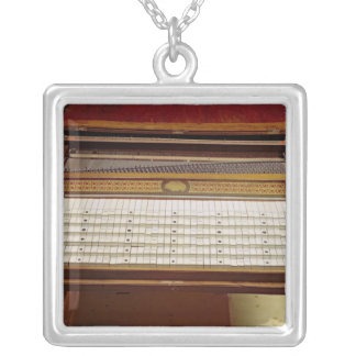 Harpsichord, by Johann Jakob Konnicke , 1796 Silver Plated Necklace