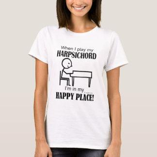 Harpsichord Happy Place T-Shirt