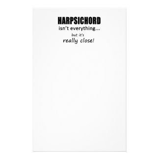 Harpsichord Isn't Everything Personalized Stationery
