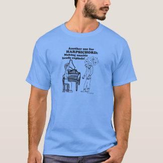 Harpsichord Zombie Explode T-Shirt