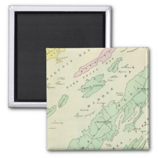 Harpswell, adjacent islands 2 inch square magnet