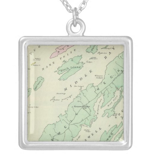 Harpswell, islas adyacentes collar plateado