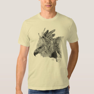 Harpy Eagle Drawing T-shirt