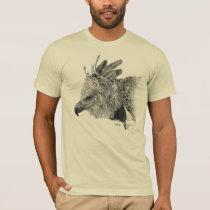 Harpy Eagle Drawing T-Shirt